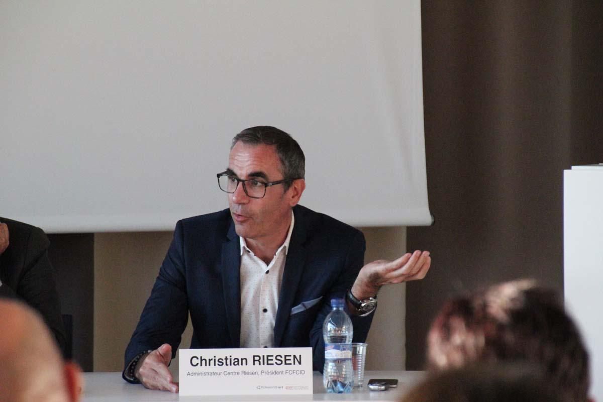 Christian Riesen, administrateur Centre Riesen