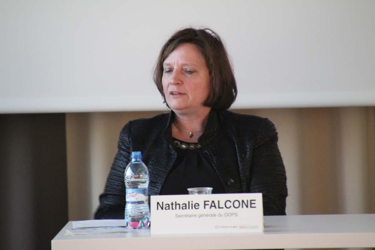 Nathalie Falcone, secrétaire générale du Conseiller fédéral Guy Parmelin (DDPS)
