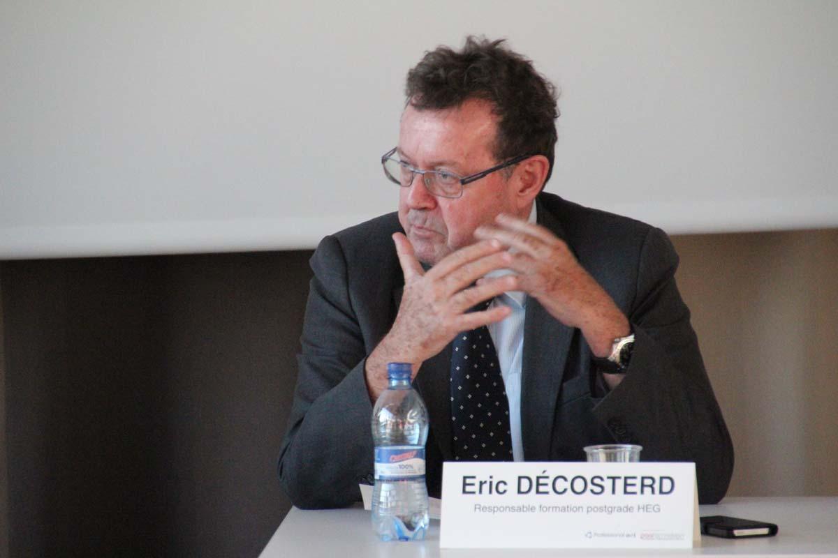 Eric Décosterd, responsable formation postgrade HEG