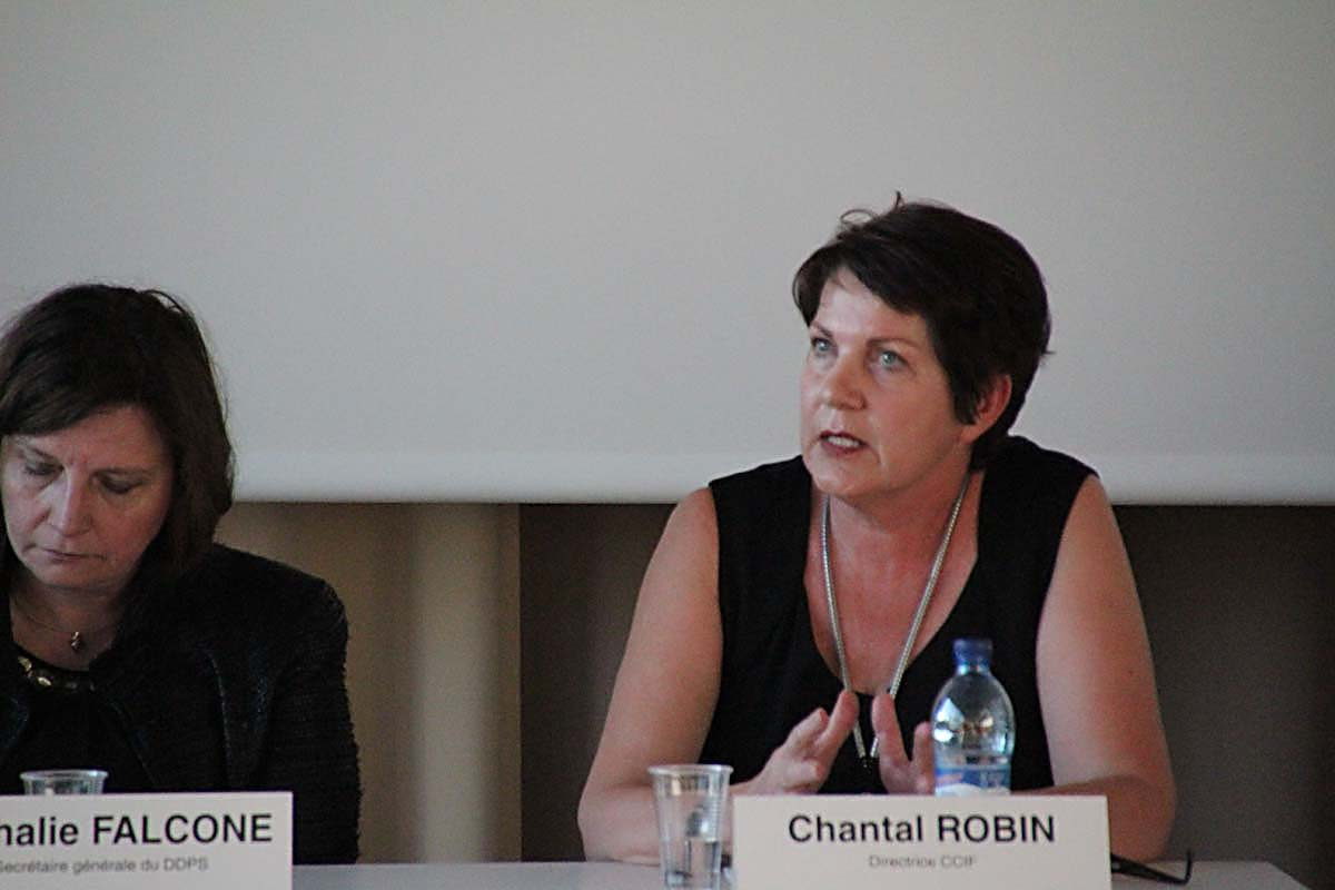 Chantal Robin, directrice CCIF