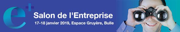 Salon de l'Entreprise, 17-18 janvier 2019, Espace Gruyère, Bulle